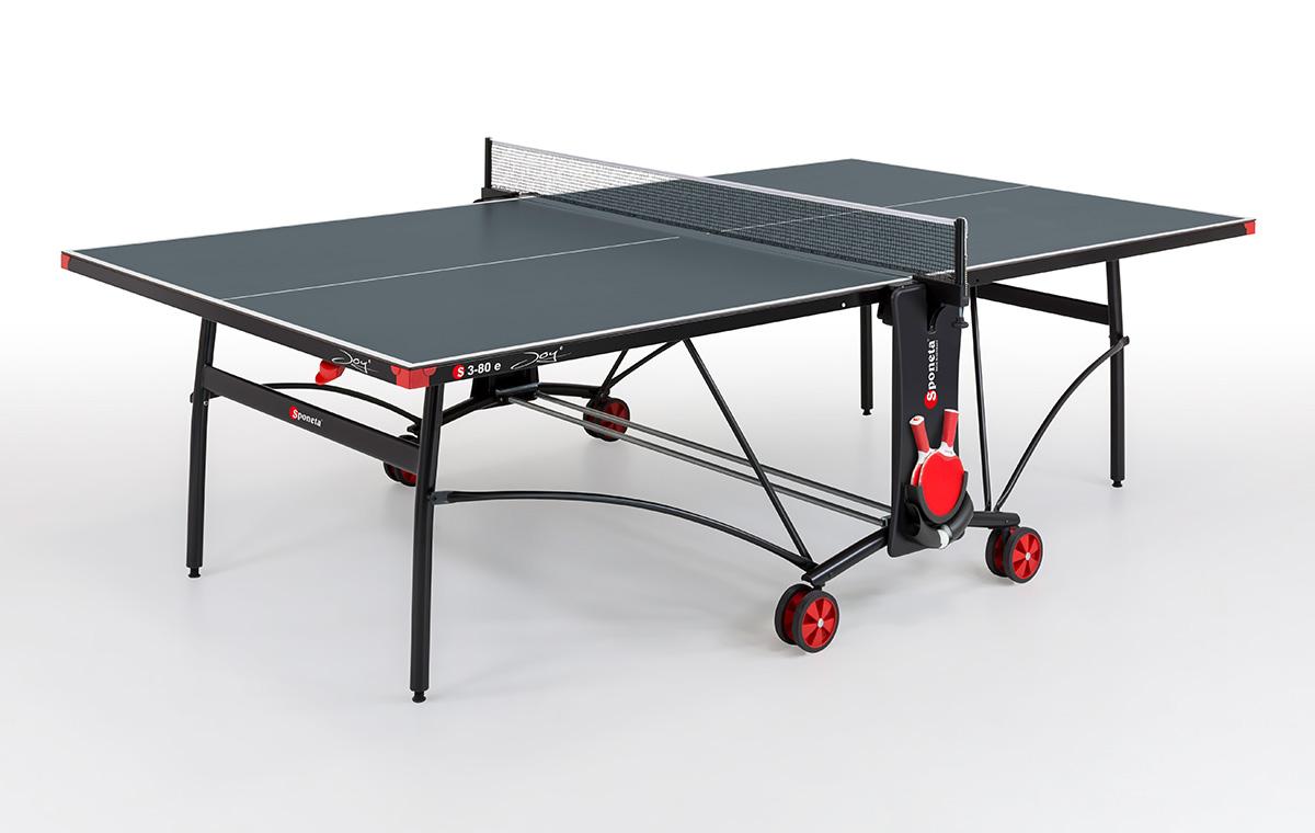 "Sponeta Outdoor-Tischtennisplatte ""S 3-80 e"" (S3 Line), wetterfest 209.9010/L"