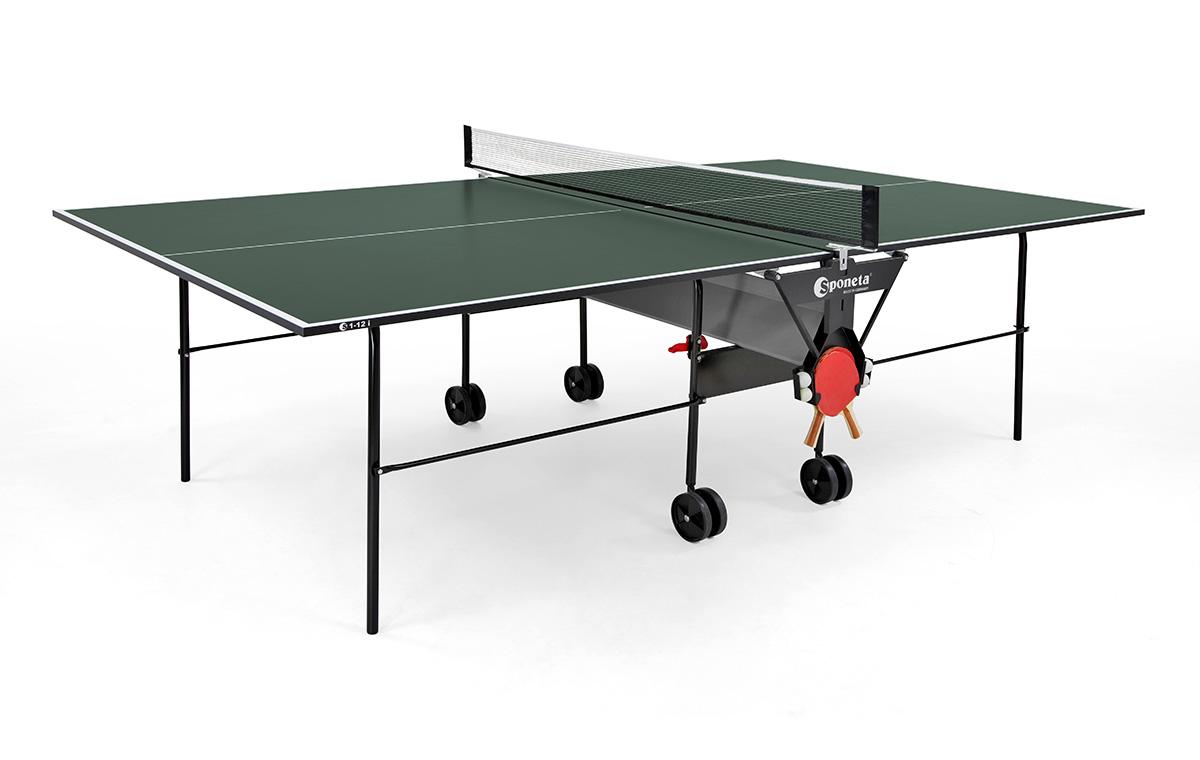 """Sponeta Indoor-Tischtennisplatte """"S 1-12 i"""" (S1 Line) 210.1010/L"""