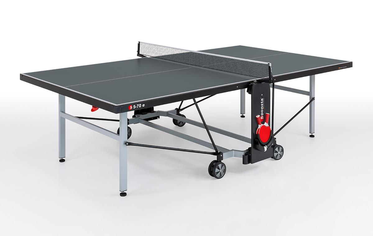 "Sponeta Outdoor-Tischtennisplatte ""S 5-70 e"" (S5 Line), wetterfest 213.9110/L"