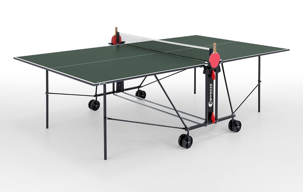 """Sponeta Indoor-Tischtennisplatte """"S 1-42 i"""" (S1 Line) 214.1010/L"""