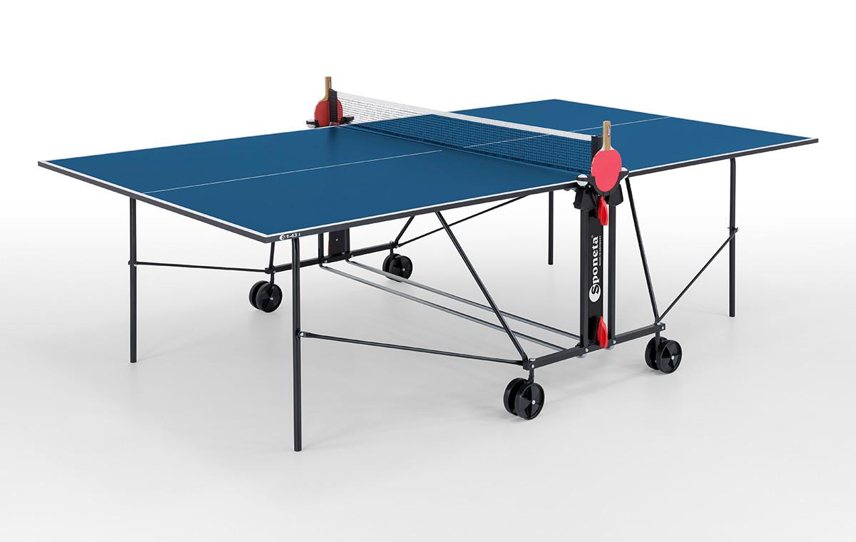 """Sponeta Indoor-Tischtennisplatte """"S 1-43 i"""" (S1 Line) 214.3010/L"""