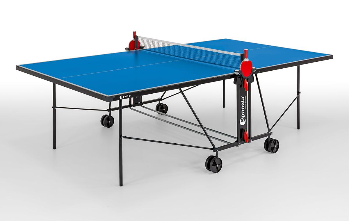 "Sponeta Outdoor-Tischtennisplatte ""S 1-43 e"" (S1 Line), wetterfest 216.7010/L"