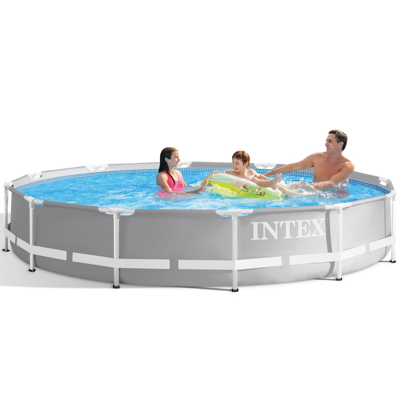 "Intex Frame Swimming Pool Set ""Prism Rondo"""
