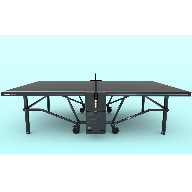 "Sponeta Design Line Outdoor-Tischtennisplatte ""SDL Black Outdoor"" (Design Line), wetterfest 274.9000/L"