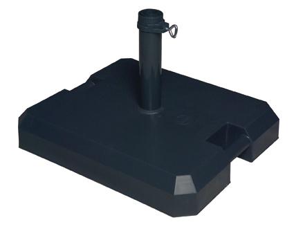 Doppler Profi-Beton-Rollsockel mit Bodenschoner 85892FA