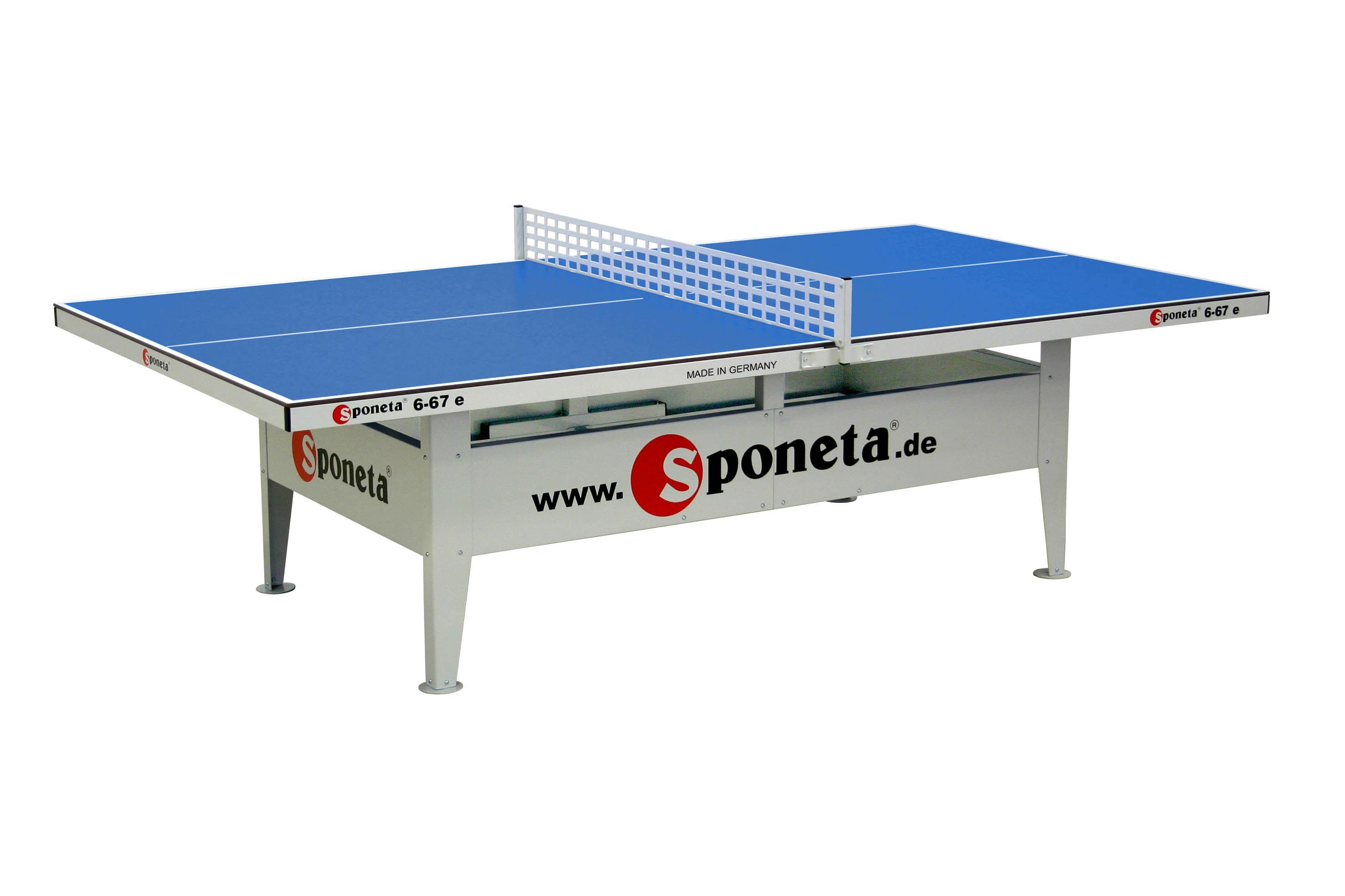 """Sponeta Outdoor-Tischtennisplatte """"S 6-67 e Activeline"""" 239.7419"""