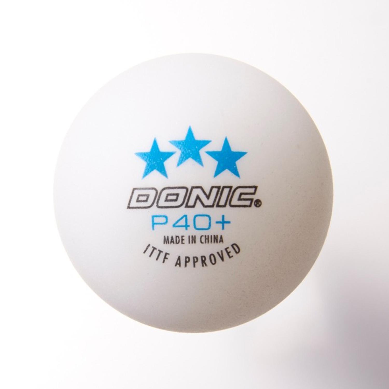 """Donic Tischtennisbälle """"Coach P40+ ***"""" - 72 Stück 550241"""
